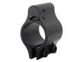 Syrac Ordnance Click-Adjustable Gas Block AR-15, LR-308 Standard Barrel 0.750&quot; Inside Diameter Clamp-On Low Profile Steel Matte