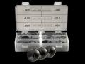 "Burris 1"" Signature Rings Pos-Align Offset Inserts Gunsmith Kit"