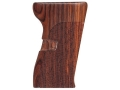 Hogue Fancy Hardwood Grips CZ 52 Checkered Cocobolo