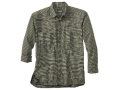 Woolrich Elite Oxford Concealed Carry Long Sleeve Shirt Cotton Loden Large