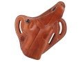 El Paso Saddlery Dual Duty 3 Slot Outside the Waistband Holster Right Hand Sig Sauer P220, P226 Leather