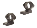 Talley Lightweight 2-Piece Scope Mounts with Integral 1&quot; Extended Rings Savage 10 Through 16, 110 Through 116 Flat Rear Matte Low