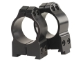"Warne 1"" Permanent-Attachable Ring Mounts CZ 550, BRNO 602 (19mm Dovetail) Gloss Medium"