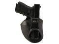 Fobus Concealment Inside the Waistband Holster Right Hand Glock 17, 19, 22, 23, 26, 27 Polymer Black