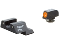 Trijicon HD Night Sight Set Glock 42, 43 Steel Matte 3-Dot Tritium Green with Front Dot Outline