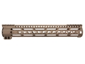 Midwest Industries LWK-Series Free Float Lightweight KeyMod Handguard AR-15 Rifle Length Aluminum