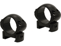 "Weaver 1"" Grand Slam Steel Top Mount Windage Adjustable Weaver-Style Rings Matte Medium"