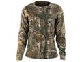 Browning Women's Wasatch T-Shirt Long Sleeve Cotton Realtree Xtra Camo
