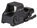 Sightmark Ultra Shot Plus Red Dot Sight 1x Selectable Reticle with Quick Detachable Weaver Mount Matte