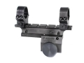 B-Square Weaver-Style Scope Base with Rings Ruger Mini-14 Gloss