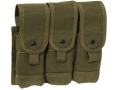Blackhawk S.T.R.I.K.E. Speed Clip Triple Coupled Magazine Pouch Holds Six Coupled AR-15 30 Round Magazines Nylon Olive Drab