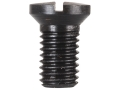 "Product detail of Forster Slotted Oval .240"" Diameter Head Screws 8-40 x 1/4"" Blue Package of 10"
