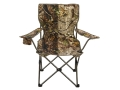 Hunter&#39;s Specialties Bazaar Chair Steel Frame Polyester Seat Realtree APG Camo