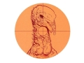 Lyman Fluorescent Animal Target Turkey 6&quot; Package of 10