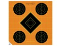 "Caldwell Orange Peel Target 8"" Self-Adhesive Sight-In Package of 100"