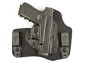 DeSantis Invader Inside the Waistband Holster S&W Bodyguard 380 Kydex and Nylon Black