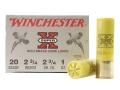 "Winchester Super-X High Brass Ammunition 20 Gauge 2-3/4"" 1 oz #5 Shot Box of 25"