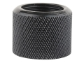 Gentry Thread Protector Cap 1/2&quot;-28 Thread .650&quot; Outside Diameter x 1/2&quot; Length Knurled Chrome Moly Blue