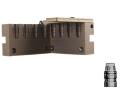 Saeco 4-Cavity Bullet Mold #382 38 Special, 357 Magnum (358 Diameter) 158 Grain Semi-Wadcutter