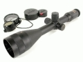 Springfield Armory Government Rifle Scope 30mm Tube 4-14x 56mm 7.62mm Illuminated Mil-Dot Reticle Matte