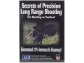 "Product detail of American Gunsmithing Institute (AGI) Video ""Secrets of Precision Long Range Shooting for Hunting or Tactical"" DVD"
