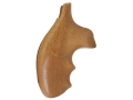 Hogue Fancy Hardwood Grips with Finger Grooves S&W J-Frame Round Butt Goncalo Alves