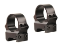 Leupold 1&quot; PRW (Permanent Weaver-Style) Rings Gloss Medium