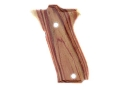 Hogue Fancy Hardwood Grips S&W 39, 52, 439, 539 and 639 Tulipwood