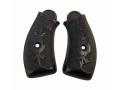 Vintage Gun Grips Forehand & Wadsworth 38 Caliber Polymer Black