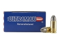 Ultramax Remanufactured Ammunition 9mm Luger 125 Grain Lead Round Nose