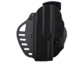 Hogue PowerSpeed Concealed Carry Holster Outside the Waistband (OWB) Left Hand Sig Sauer P250  Polymer Black