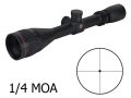 Sightron SII Big Sky Target Rifle Scope 4-16x 42mm Adjustable Objective 1/4 MOA Dot Reticle Matte