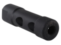 Yankee Hill Machine Muzzle Brake Phantom 5/8&quot;-24 Thread AR-10, LR-308 Steel Parkerized