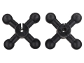 Bowjax Ultra I Bow String Silencer Rubber Black Pack of 2