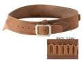 Product detail of Oklahoma Leather Cowboy Drop-Loop Cartridge Belt 44, 45 Caliber Leather Brown Medium