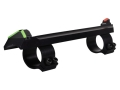 Advantage Tactical Split Ring Triangular Sight Set Remington 870, 1100, 11-87 12 Gauge Steel Blue with Interchangeable Front &amp; Rear Colored Inserts