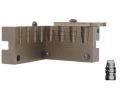 Saeco 4-Cavity Bullet Mold #388 38 Special, 357 Magnum (358 Diameter) 158 Grain Semi-Wadcutter Bevel Base