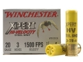 "Winchester Xpert High Velocity Ammunition 20 Gauge 3"" 7/8 oz #4 Non-Toxic Plated Steel Shot Box of 25"