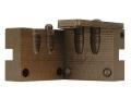 Saeco 2-Cavity Bullet Mold #390 38 Special, 357 Magnum (358 Diameter) 158 Grain Round Nose