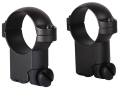 Leupold 1&quot; Ring Mounts Ruger 77 Matte Super-High