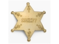 Collector&#39;s Armoury Replica Old West Sheriff Badge Brass