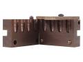 Saeco 4-Cavity Bullet Mold #390 38 Special, 357 Magnum (358 Diameter) 158 Grain Round Nose