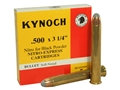 "Kynoch Ammunition 500 Nitro Express 3-1/4"" 570 Grain Woodleigh Weldcore Soft Point  Box of 5"