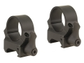 Leupold 1&quot; QRW Quick-Release Weaver-Style Rings Matte Medium