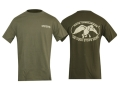Duck Commander Duck Stops Here T-Shirt Short Sleeve Cotton Moss Large 41-43