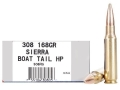 Ultramax Remanufactured Ammunition 308 Winchester 168 Grain Hollow Point Boat Tail Box of 20