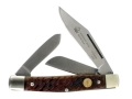 Puma Classic Series Stockman Folding Knife 3-Blade German 440A Stainless Steel Blade Stag Handle