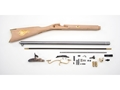 Traditions St. Louis Hawken Black Powder Rifle Unassembled Kit 50 Caliber Percussion 1 in 48&quot; Twist 28&quot; Barrel in the White