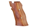Hogue Fancy Hardwood Grips S&amp;W 41 Tulipwood