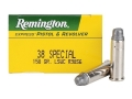 Remington Express Ammunition 38 Special 158 Grain Lead Semi Wadcutter Box of 50